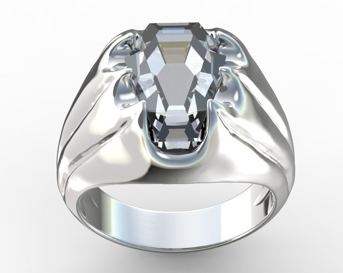 Coffin Gems® - 5CT FANG RING