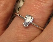 Coffin Gems® -  Stackable 1CT SOLITAIRE RING