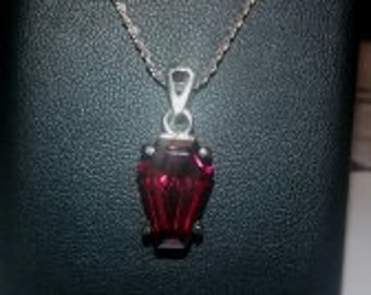 Coffin Gems® - 5CT PENDANT - Blood Garnet!