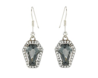 Coffin Gems® - 3CT HALO EARRINGS