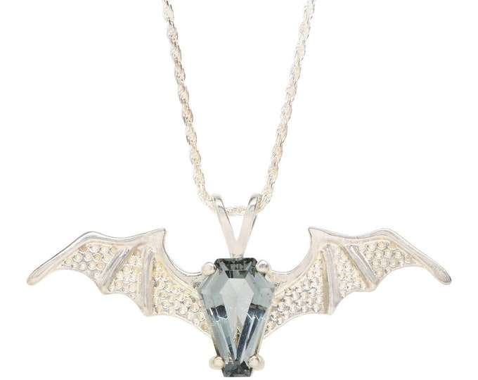 Coffin Gems® - 3CT BATWING PENDANT