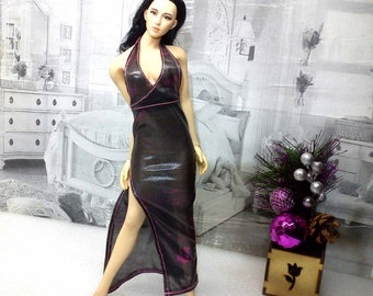 1//6 Scale  handmade SEE THROUGH  lingerie cute dress clothes for Barbie doll HTF
