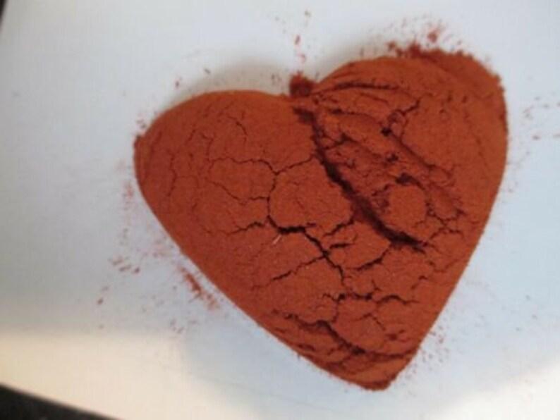 pure red sandalwood powder Rakta Chandan powder ayurvedic use to treat acne  scars stretch marks 25g om a resealable bag spellwork wicca