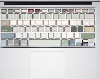 Keyboard Stickers MacBook Keyboard Stickers MacBook | Etsy