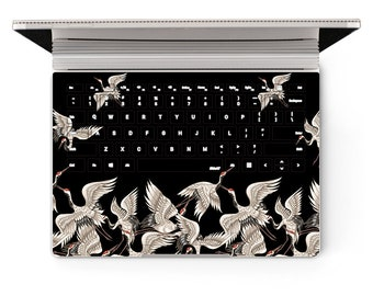 Microsoft SurfaceBook 2 Crane Laptop Skin Keyboard Sticker 13in Core i5 Decal Protector Cover