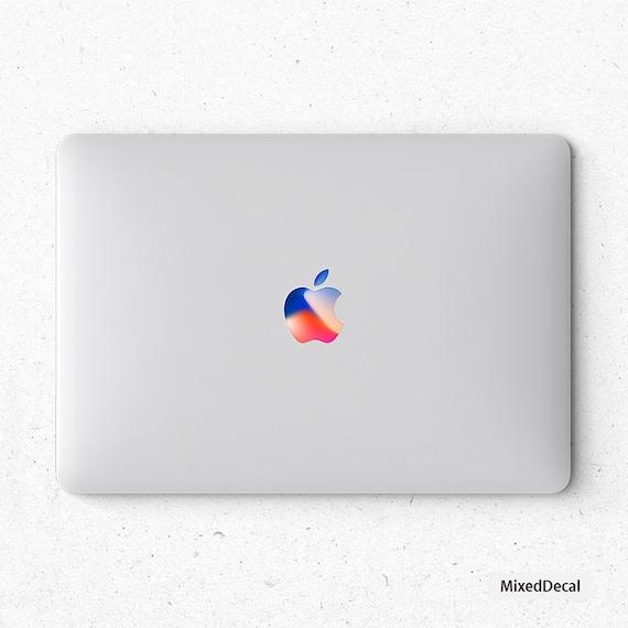 Retro Apple Logo Sticker Macbook Pro Decals Macbook Air Etsy
