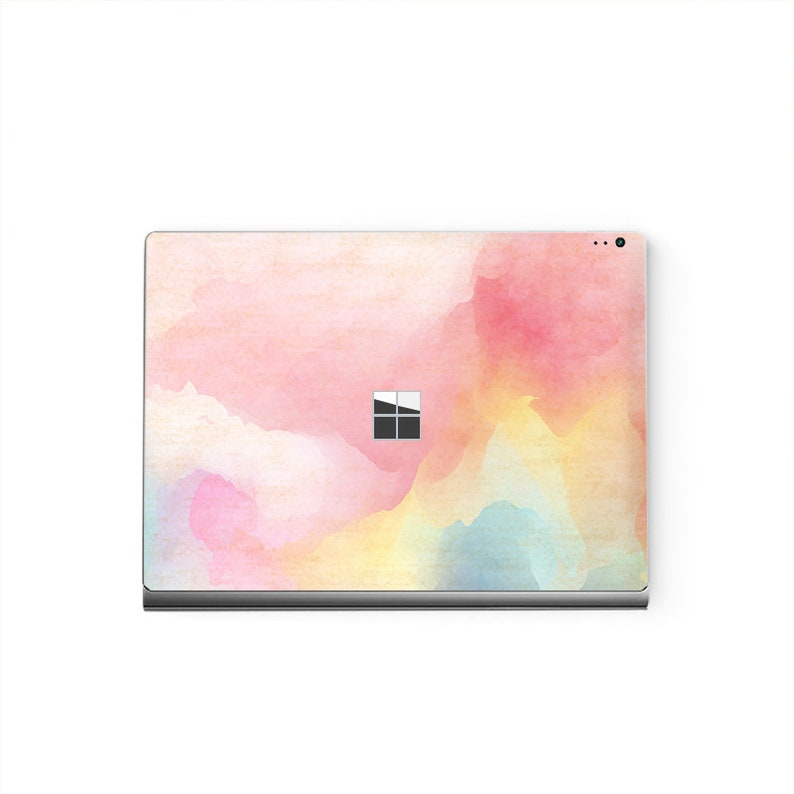 Surface Laptop Sticker Top Microsoft Surface Skin  Bottom Decal Protector Cover WaterPink