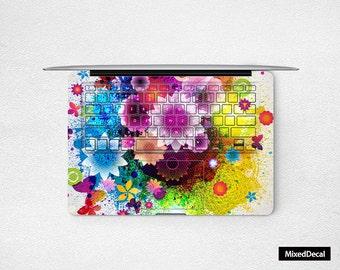 MacBook Pro 13 Skin Keyboard sticker Full Retina cover Garden Laptop Decal Air Decal 3M  (Please choose different version)