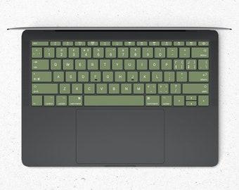 Basil MacBook keyboard Stickers  Keyboard key's individual Stickers  MacBook Air Vinyl Key's Skin  MacBook M1 Chip Accessories