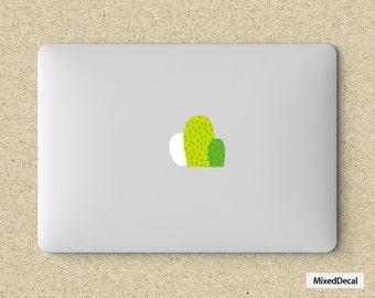 MacBook Pro Decal\ Sticker\ Skin \ Logo Sticker \ Laptop Decal\ Decor Decal Sticker \Green Cacti
