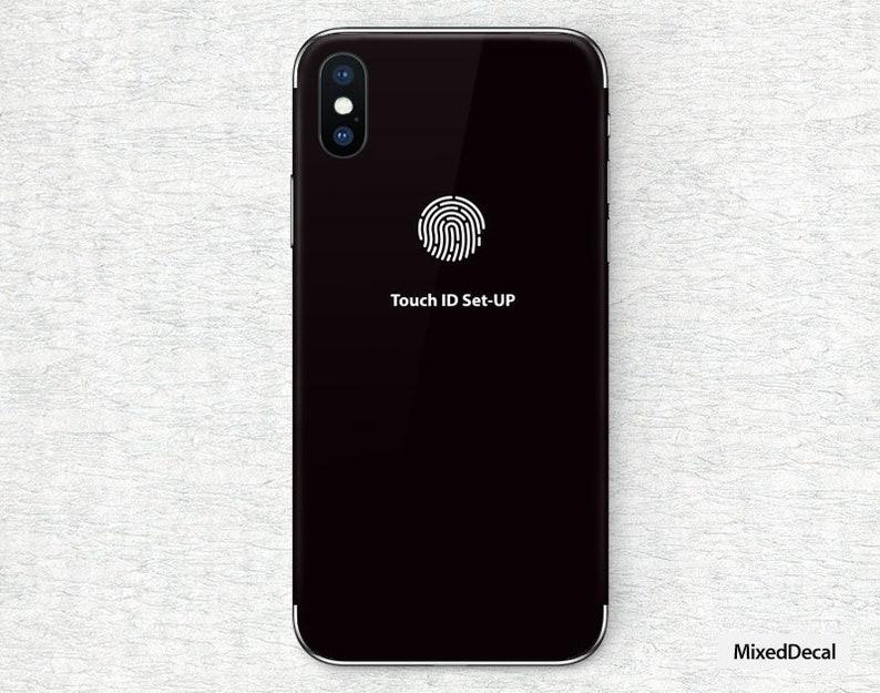 wholesale dealer 8f6cb 45b02 iPhone X Decal iPhone 8 Skin Face ID iPhone Decal iPhone 7 Sticker 8 plus  iPhone X max Xr iPhone 6 iPhone 6s plus