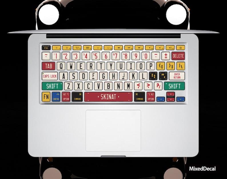 Car Brand keyboard Stickers Laptop keyboard Cover MacBook keyboard Decal  Air Skin kits MacBook Pro 15 Skin Decal MacBook touch bar 2017