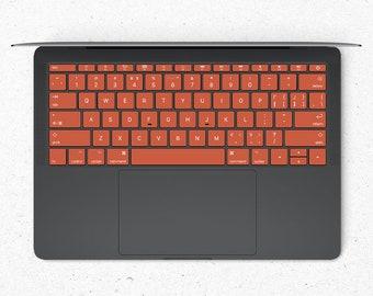 Conker MacBook keyboard Stickers  Keyboard key's individual Stickers  MacBook Air Vinyl Key's Skin  MacBook M1 Chip Accessories