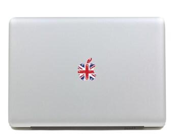 macbook decal sticker logo flag  transparent logo decal /macbook pro decal logo sticker/