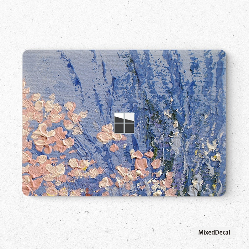 Microsoft Surface Laptop Skin Sticker Top Surface Book Skin Bottom Surface Laptop Skin Surface Book Decal Protector Cover Lavender