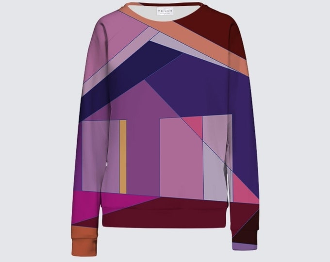 Abstract Design Women's Sweatshirt