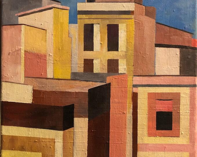 Barcelona Balcony Abstract