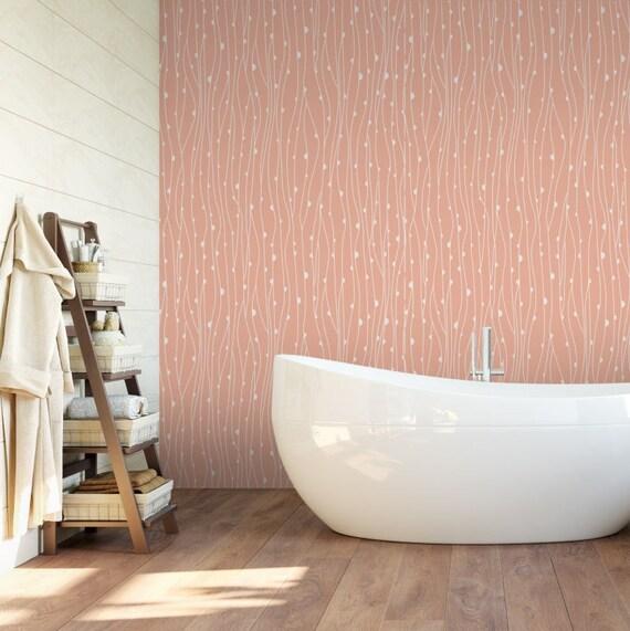 nature papier peint pois adh sif papier peint autocollant. Black Bedroom Furniture Sets. Home Design Ideas
