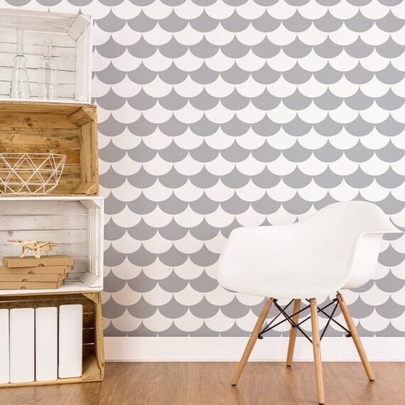 nordique papier peint pois adh sif papier peint autocollant etsy. Black Bedroom Furniture Sets. Home Design Ideas