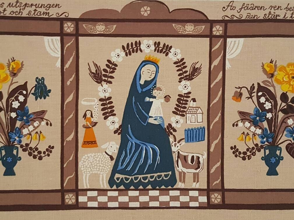 swedish textile tapestry design gocken jobs sweden etsy. Black Bedroom Furniture Sets. Home Design Ideas