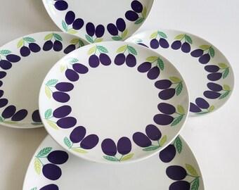 Pomona Arabia Finland - dinner plate by Kaj Franck Ruija Uosikkinen  - mid century 60s