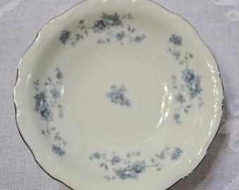 Vintage Haviland Blue Garland Fruit Bowl Set of 4 Bavaria White Blue Floral Replacement PanchosPorch