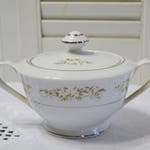 Vintage International Silver Springtime Sugar Bowl Floral Design 326 Replacement Made in Japan PanchosPorch