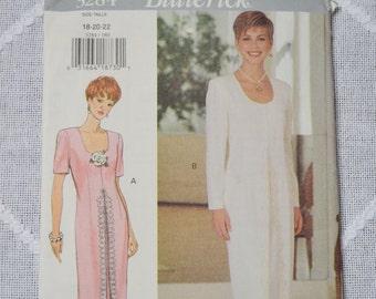 Butterick Pattern 3284 Uncut Misses Dress Size 18 20 22 Sewing Supplies PanchosPorch