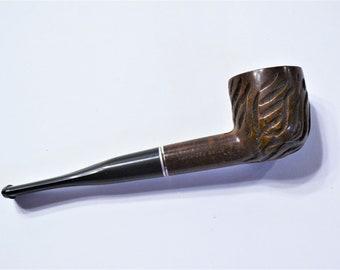 DUKE ESTATE PIPE Dr Grabow curved Meerschaum bowl imported briar tobacciana original smoking collectible England Uk