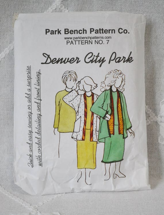 Park Bench Pattern Company No 7 Sewing Pattern Misses Skirt