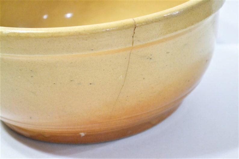 Vintage Watt Ware Even Bake Bowl Brown Beige Chippy Primitive Rustic Kitchen PanchosPorch