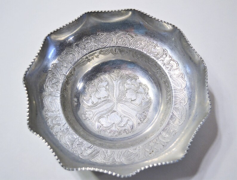 Vintage Hand Wrought Aluminum Bowl by Wilson Specialties image 0