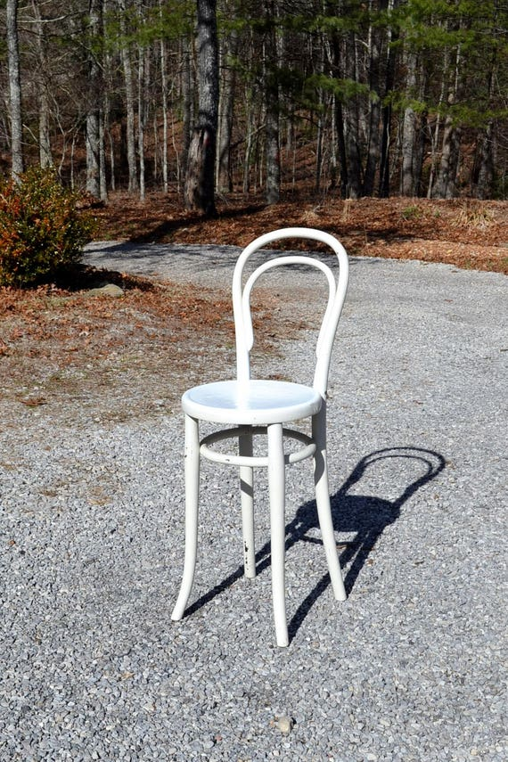 Marvelous Vintage Bentwood Stool Childrens Kitchen Stool Seat Chair Thonet Style White Chippy Paint Rustic Country Cottage Home Decor Panchosporch Caraccident5 Cool Chair Designs And Ideas Caraccident5Info