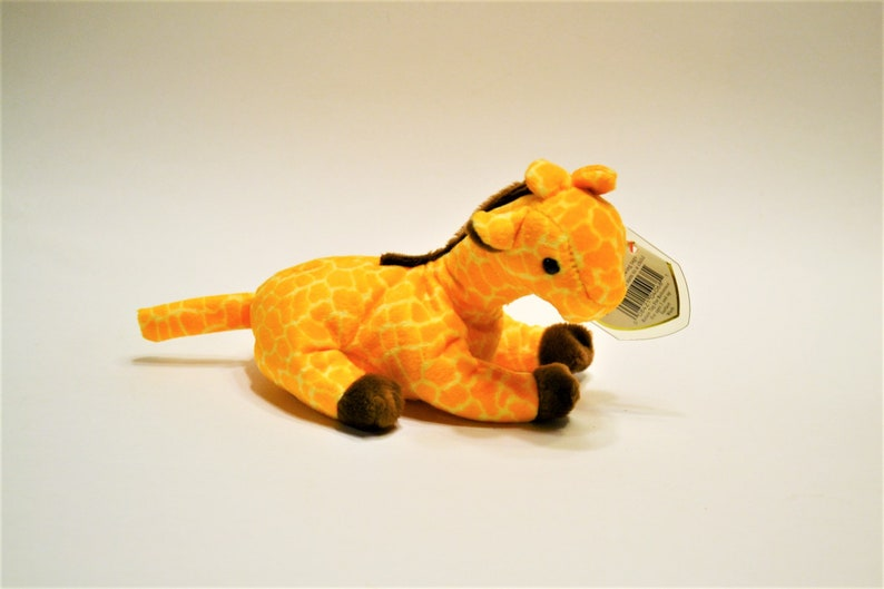 Vintage Ty Twigs Beanie Baby Plush Toy Giraffe Collectible image 0