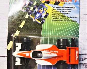 Vintage Hyper Formula 1 Race Car Grand Prix Battery Operated 1:32 Scale Indy NASCAR Racing Memorabilia Collectible. Panchosporch