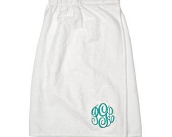 Monogrammed Spa Towel Wrap | Personalized Microfiber Towel Wrap | Perfect for bridal parties, spa parties, gifts, bridesmaids, graduation