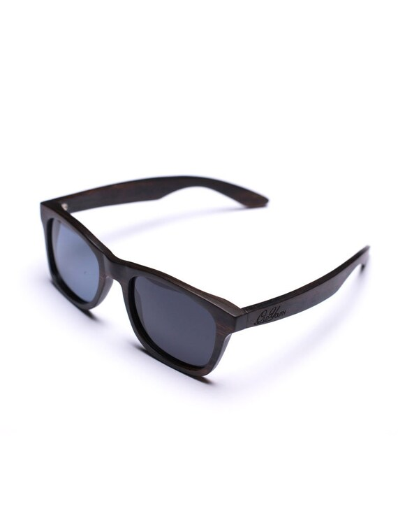 d0bc493dca Ebony Wood Wayfarer Sunglasses Precision Made   Finished By