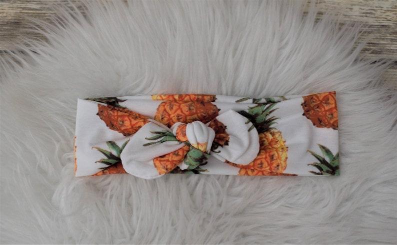 Infant Headband Turban Headband Pineapple knot HeadbandPineapple Knot Headband Adult headband