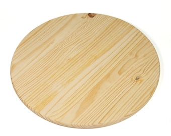 """Unfinished Pine Round 48"""" For Table Top or Sign"""