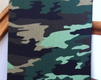 Camouflage 3 Ring Binder Cover