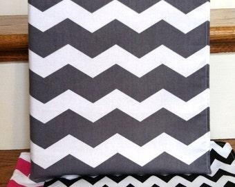 Chevron Fabric 3 - Ring Binder Cover