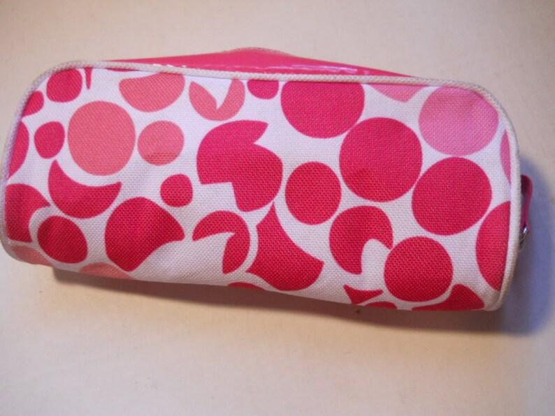 580084b8a0ac Clinique Cosmetic Makeup Bag Pouch w/Zipper Stash Bag Travel Bag Carry Bag  Hand Bag