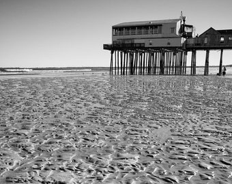 old ORCHARD BEACH MAINE 1945 ww2 vintage photography