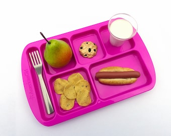 Create-Your-Own American Girl Doll 5 Items School Lunch Tray - You Pick the Meal! -  Handmade Gourmet Doll Food For Your American Girl Doll