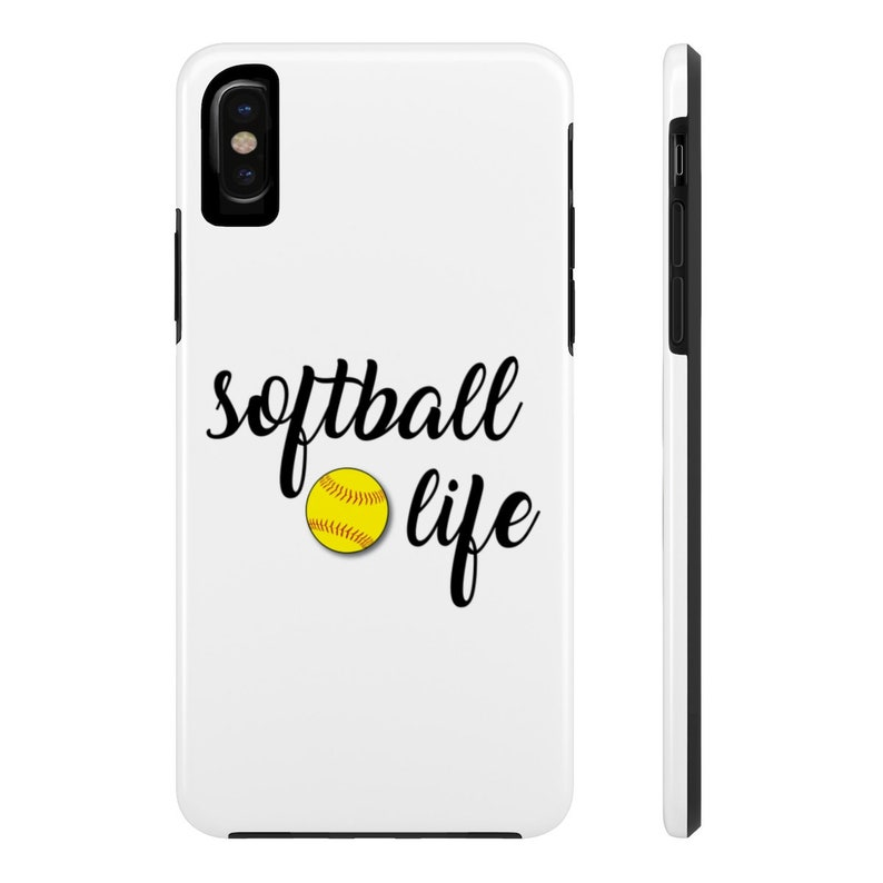 sports shoes 4eaa0 4329a Softball Life Tough Phone Case