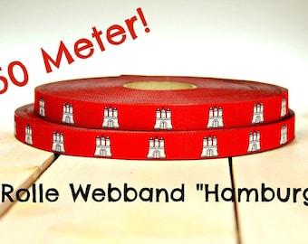 "50 metre roll webbing ""Hamburg"" (0.78 Euro/meter)"