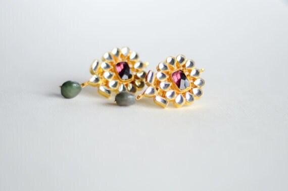 Akanksha Multi-Color Phool Earrings