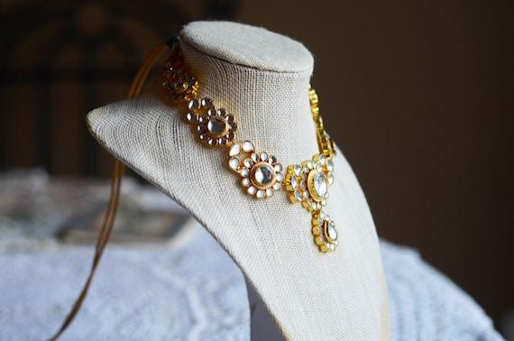 Sarabjeet Kundan Phool Necklace