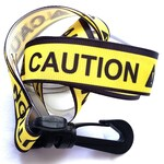 Ribbon Lanyard for Conventions - CAUTION- Furry Anime Fursuit Furries