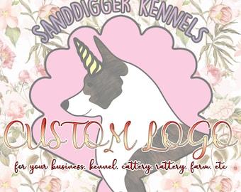 CUSTOM Logo for your business, kennel, cattery, rattery, farm, etc - Artist Designed